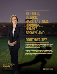 Julia Douthwaite Football Feature