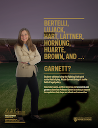 Nicole Garnett Football Feature