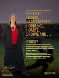 Sharon Stack Football Feature