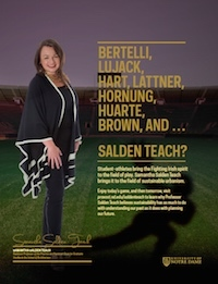 Samantha Salden Teach Football Feature