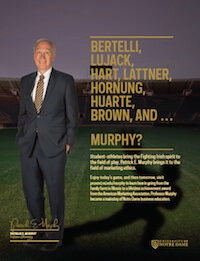 Patrick Murphy Football Feature