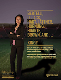 Grace Xing Football Feature