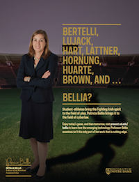 Patricia Bellia Football Feature